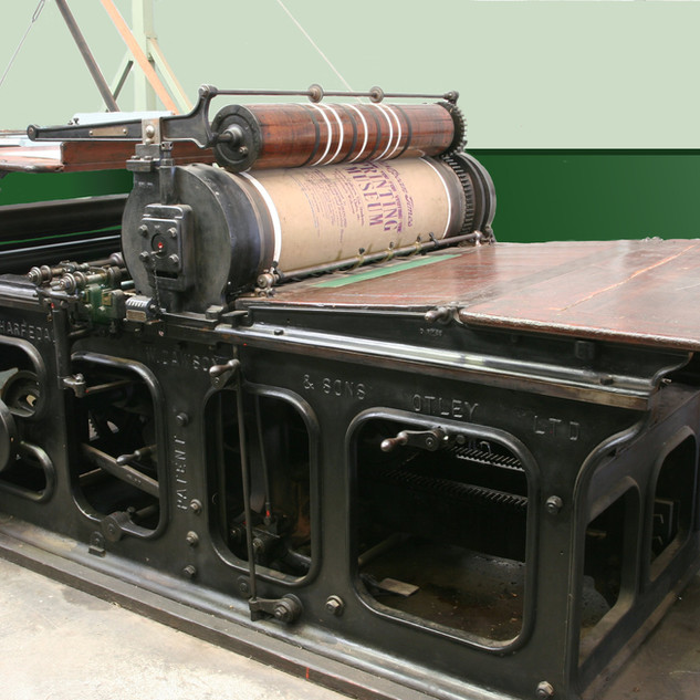 Wharfedale stop cylinder press