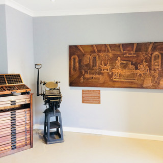 Penrith Museum of printing foyer