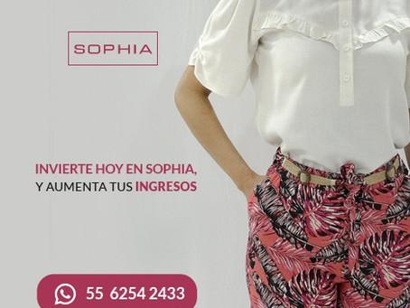 ¡Vende ropa de Sophia Moda!