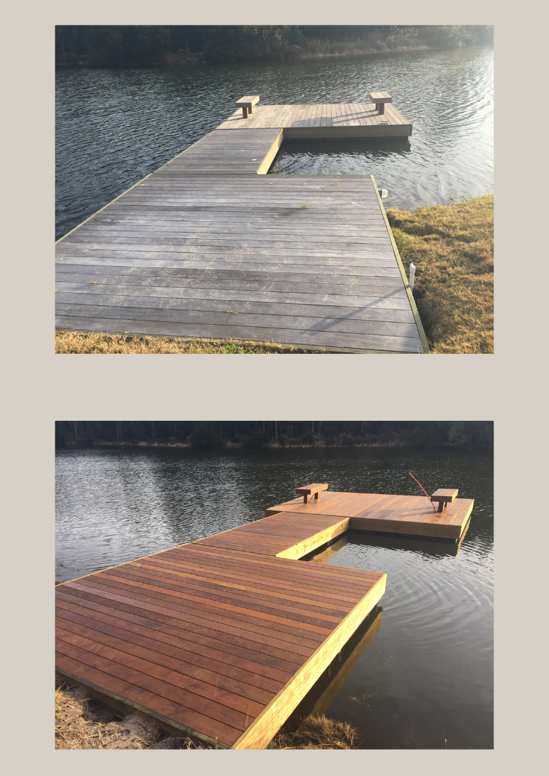 dock stain