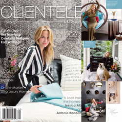 Cover shoot for Clientele Luxury