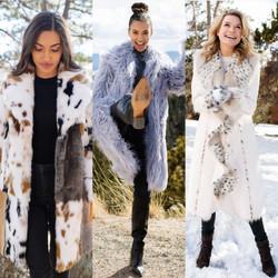 Photoshoot for Fabulous Furs a Faux fur company
