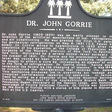 DR JOHN GORRIE HISTOPRY