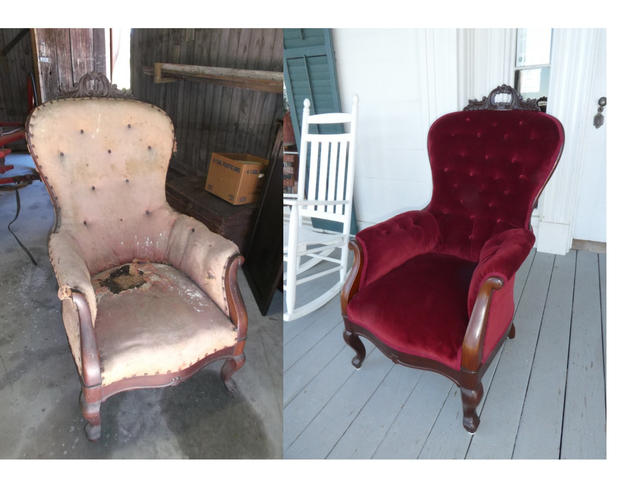 CHAIRS IN ORMAN HOUSE