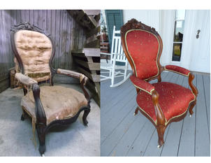 CHAIRS IN ORMANHOUSE