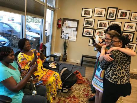 Mashallah: Refugee Women Express Gratitude to WoW Case Manager Abby Bossart