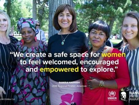 Samira Harnish Selected by UNHCR Americas Nansen Award Winner