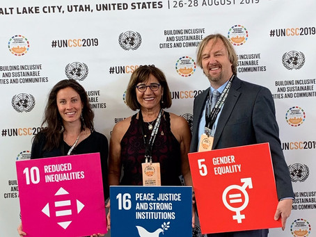 United Nations Thanks WoW Founder for Her Leadership at the UN Civil Societies Conference
