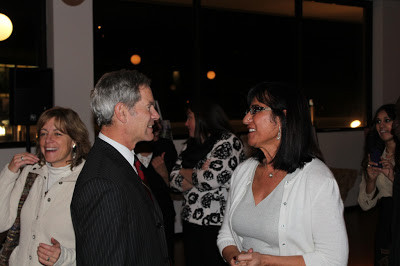 Women of the World President Samira Harnish meeting with Mayor Ralph Becker