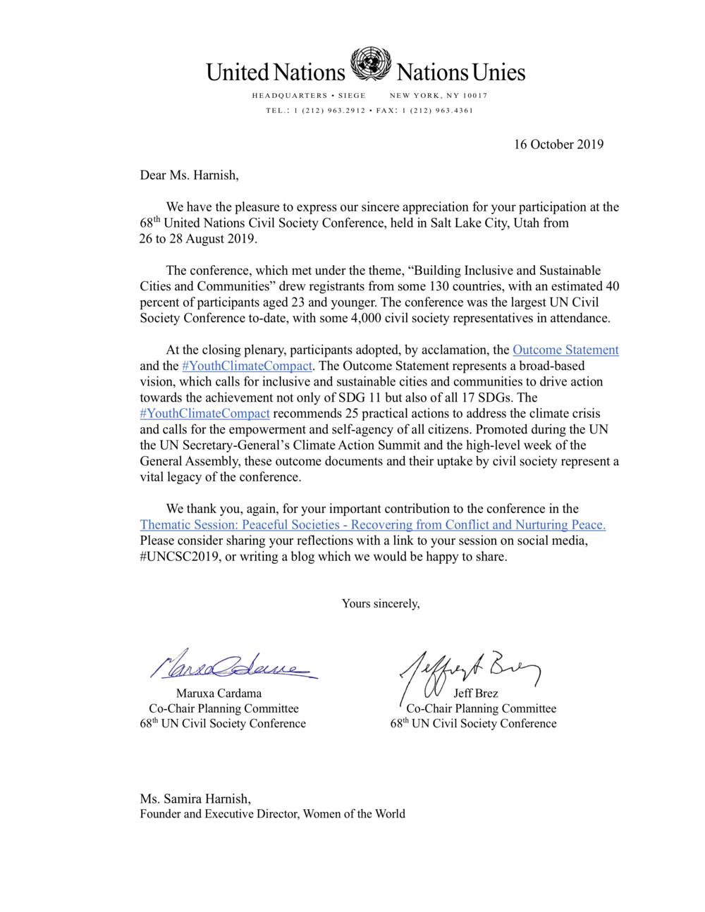 Letter of Appreciation_Ms. Samira Harnish_68th UN Civil Society Conference.png