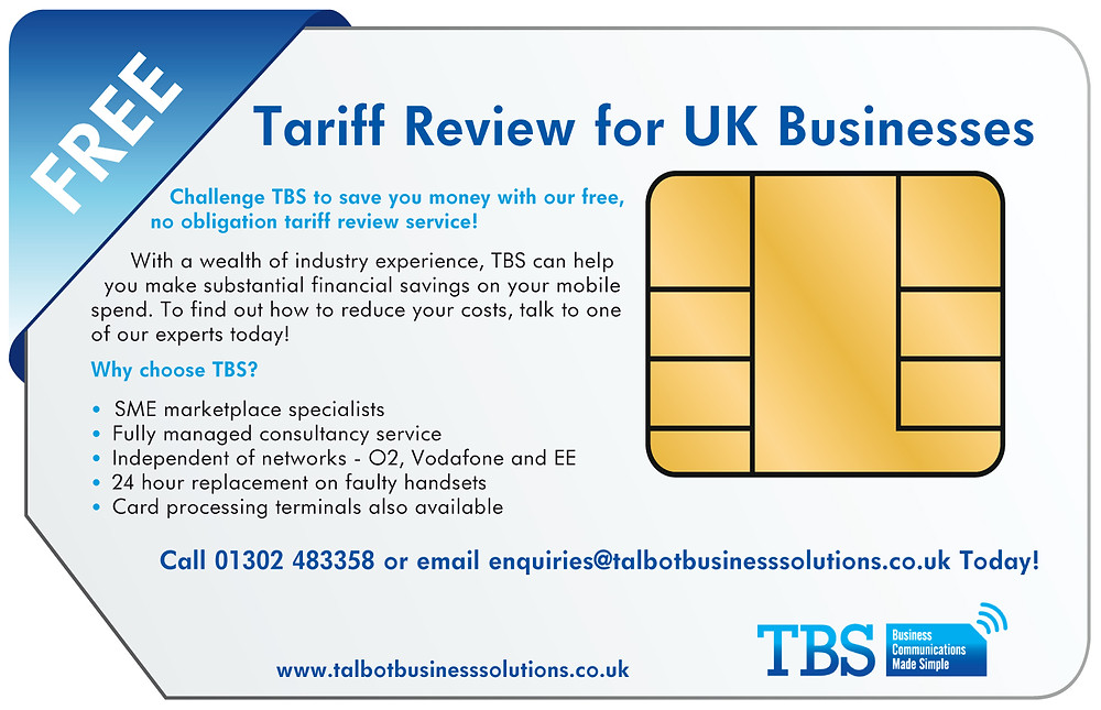 Get your free tariff review and start saving your business time and money