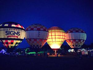 Sellersburg celebrates balloon glow