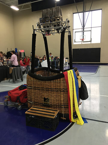 Basket display