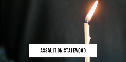 The assault on Statewood Baptist Church