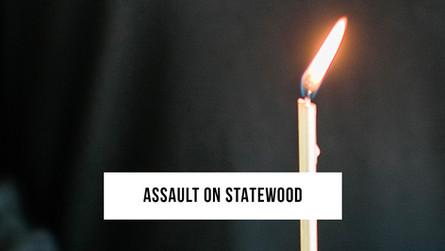 The assault on Statewood Baptist Church
