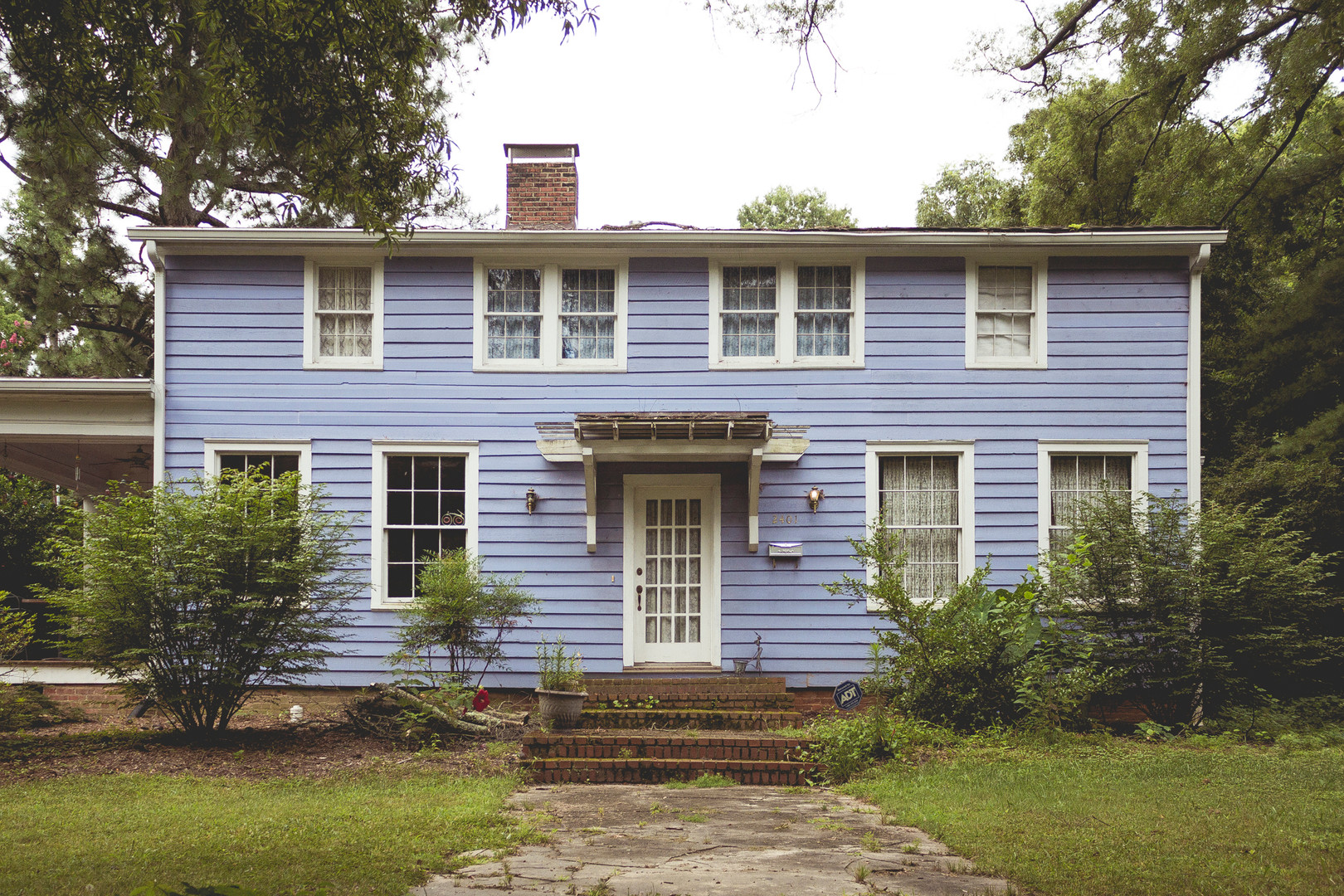Country house in Durham, North Carolina, July 2013