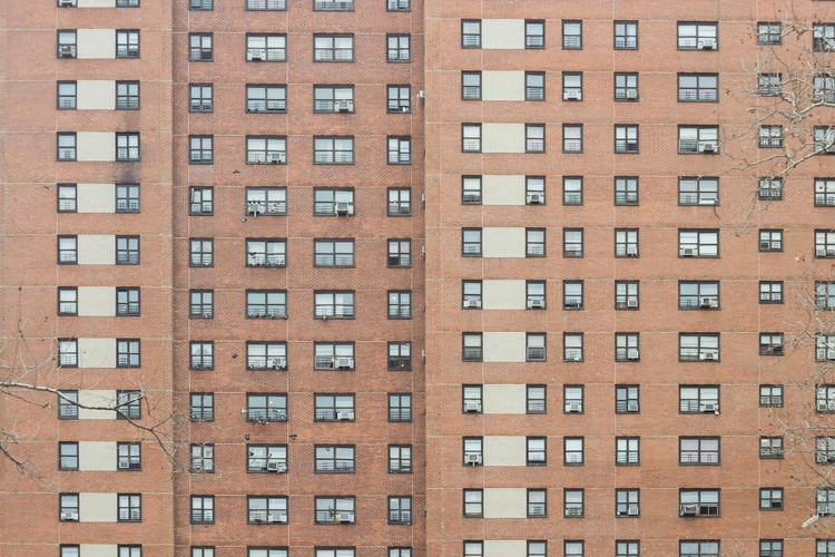 Residencial Houses in Harlem, December 2014