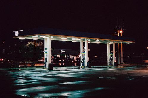 Gas Station in Laredo, Texas, September 2018