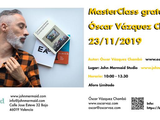 MasterClass con Óscar Vázquez Chambó