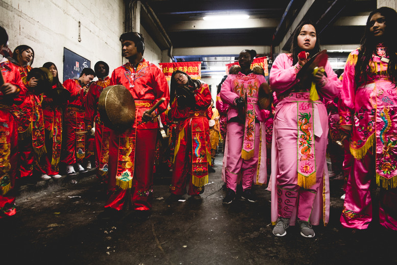 Chinese New Year Celebration in Paris. February 5th, 2017