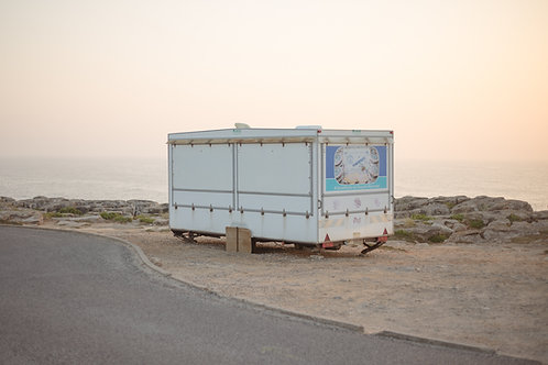 Solitary Food Truck in Peniche, Portugal, June 2018