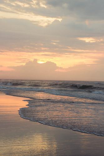 Sunrise in Ocracoke Beach, August 2013
