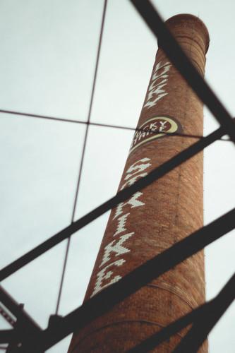 Lucky Strike tower, Durham Nc, August 2013