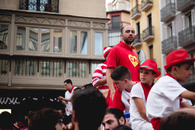 San Fermin Festival, Pamplona, July 2017