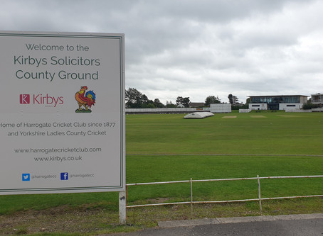 Harrogate CC announces ground naming rights partnership with Kirbys Solicitors