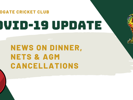 Harrogate CC Covid-19 update
