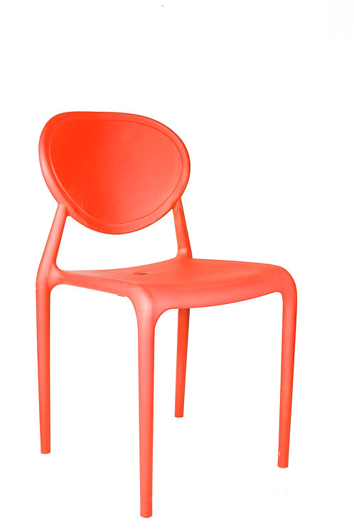 SLICK CHAIR WITHOUT ARMRESTS
