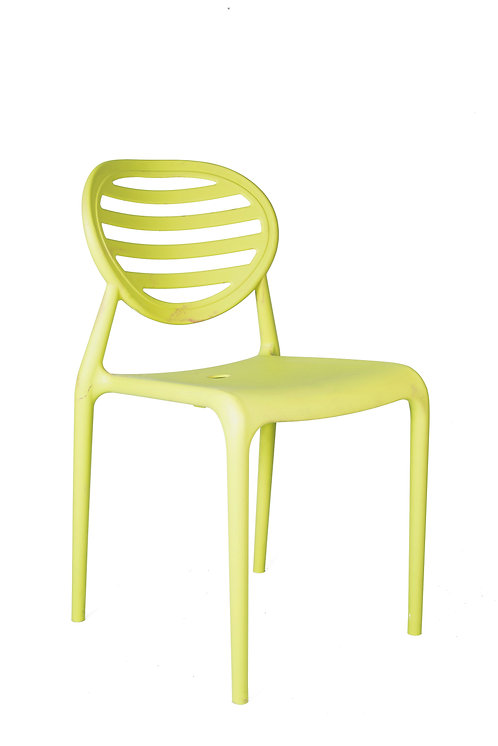 STRIPE CHAIR WITHOUT ARMRESTS