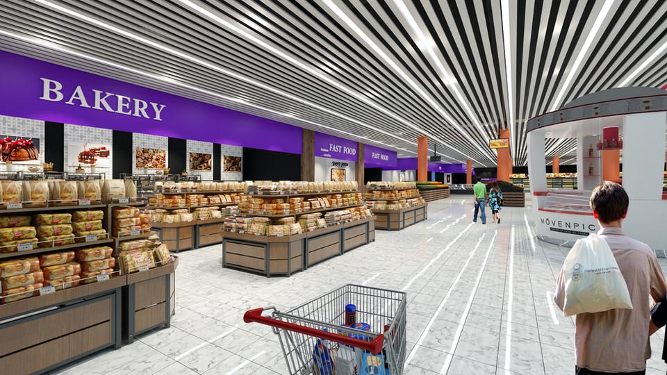 Irak Carrefour Market