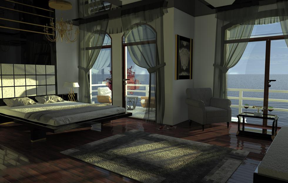 Alaçatı Yatak Odası
