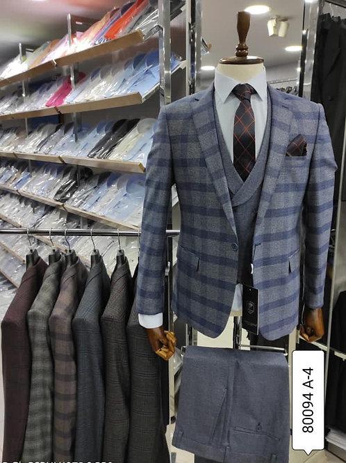 Grey-Blue Ekose - pc 50$