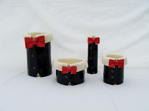 Bow Tie Red and Black Vases.JPG
