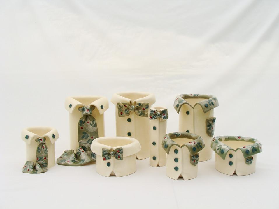 Lady Bug Vases.JPG