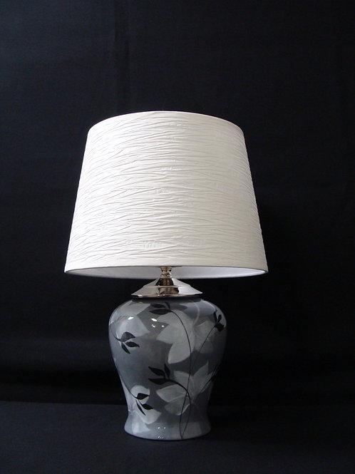 Grey Leaf Lamps
