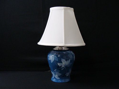 Dark Blue Leaf Lamps