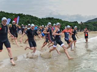 「三項技巧」游泳出發技巧 - 沙灘起跑入水