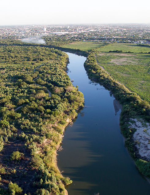 Rio Grande River U.S. Mexico