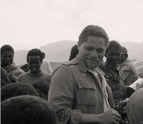 Congressman Mickey Leland Africa
