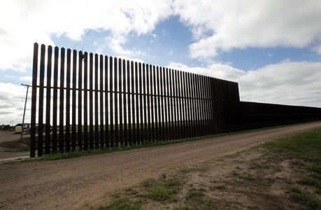 Border Wall in Donna, Texas