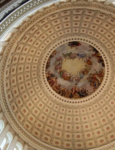 U.S. Capitol Dome Interior
