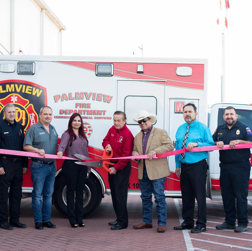 Alton & Palmview Officials Launch EMS