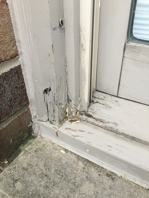 Window Sill & Nose Replacement