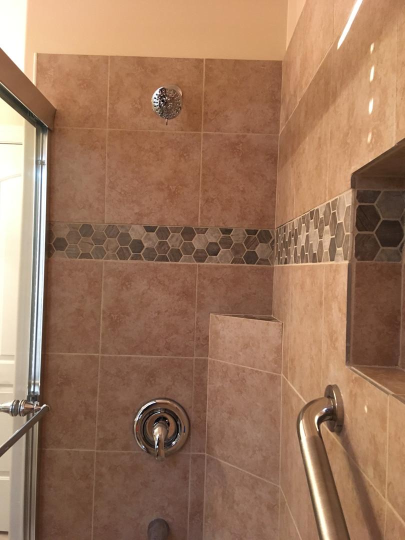 Shower Pan & Bathroom Remodel