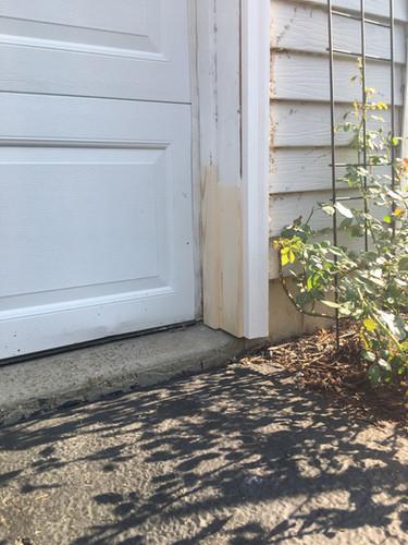 Garage Door Frame & Trim Chug