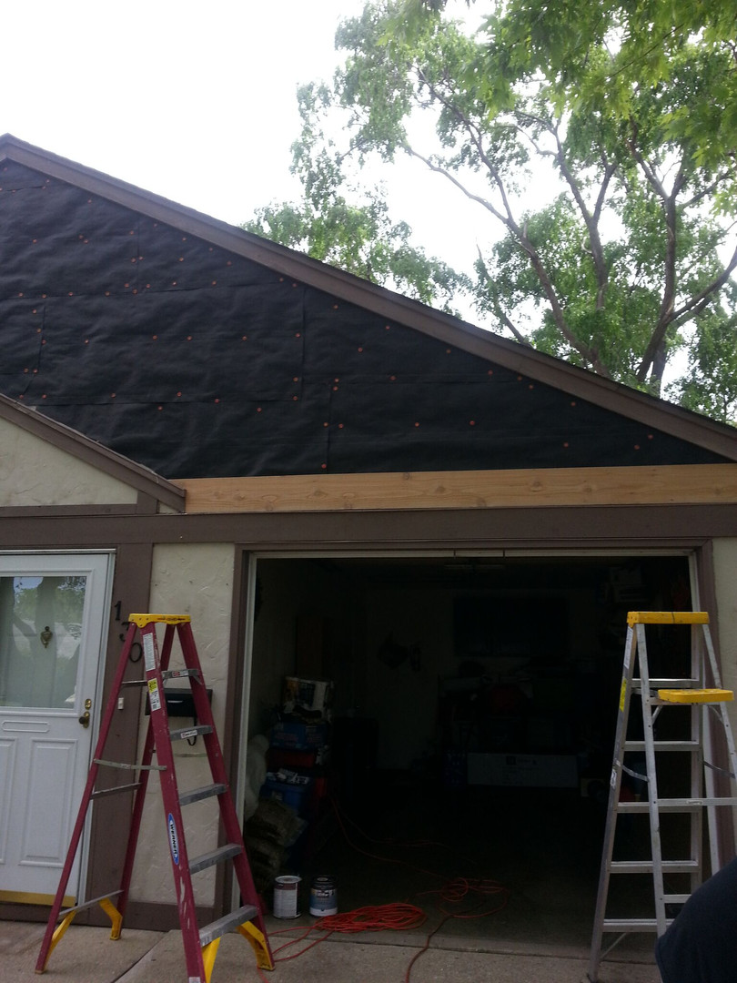 Rotten Underlayment & Replaced Siding