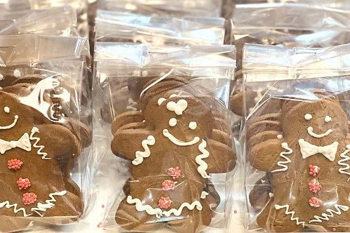 Gingerbread cookies - 4/bag
